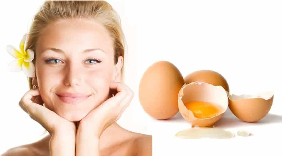 Làm đẹp bằng lòng trắng trứng gà